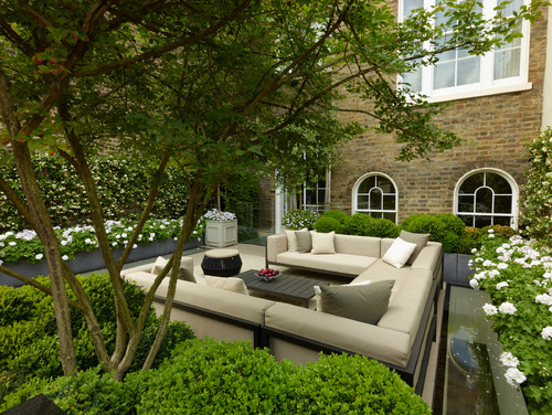 A London Roof Terrace
