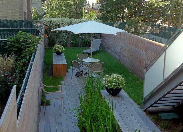 A Park Slope Modern contemporary-patio