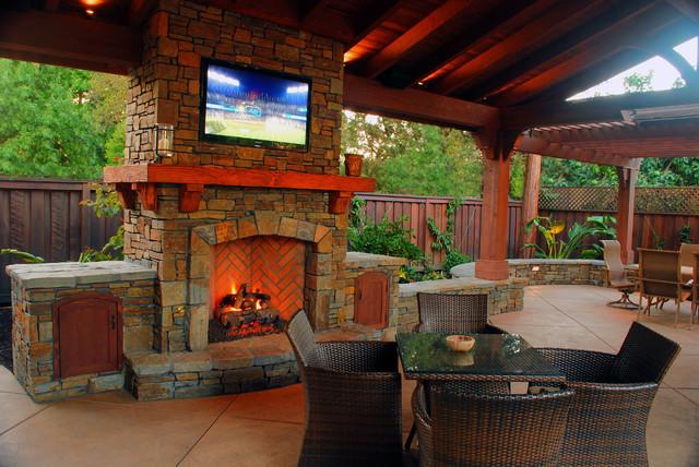 A Pavilion Made for Entertaining - Walnut Creek, CA traditional-patio