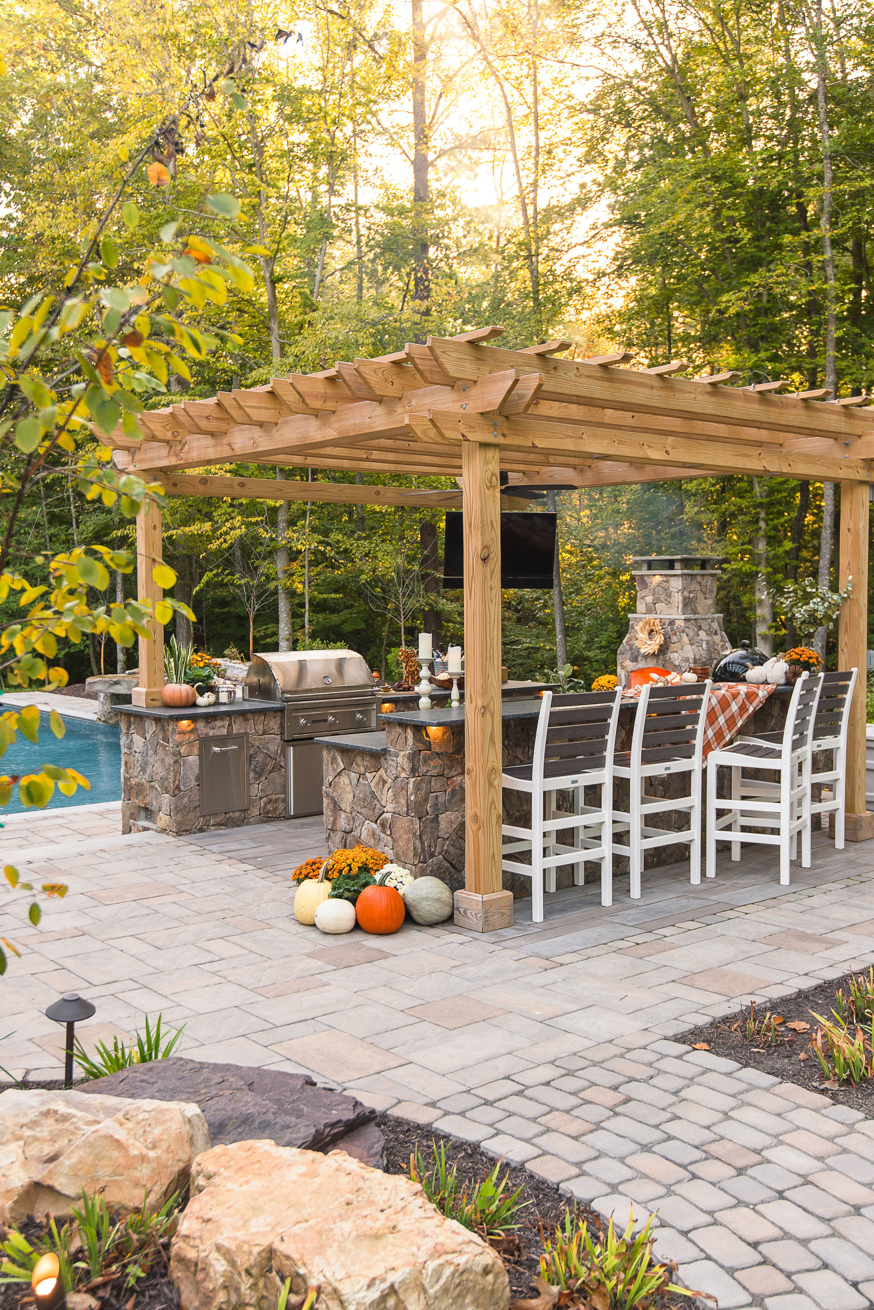 75 Beautiful Outdoor Kitchen Design Houzz Pictures Ideas July 2021 Houzz