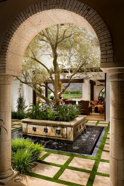 A Spanish Revival Spanish Colonial Mediterranean