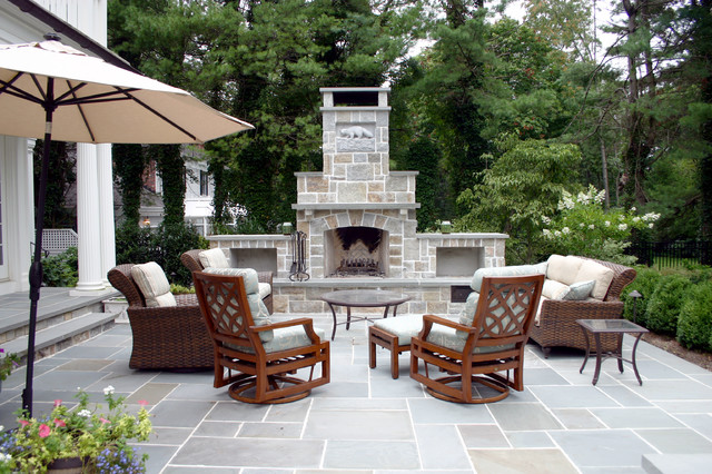 A Summit Landscape and Patio traditional-patio