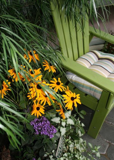 A Woman's Garden traditional-patio