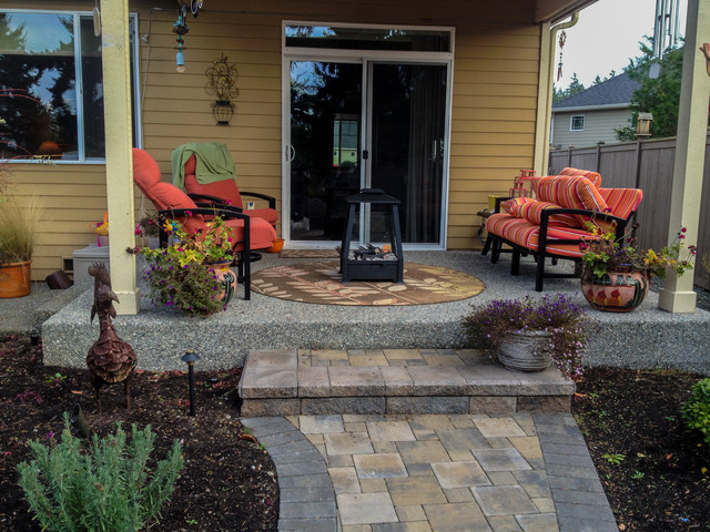 Landscape Blocks Abbotsford : Abbotsford pavers traditional entry seattle by choice