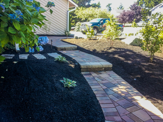 Landscape Blocks Abbotsford : Abbotsford pavers standard series traditional entry seattle