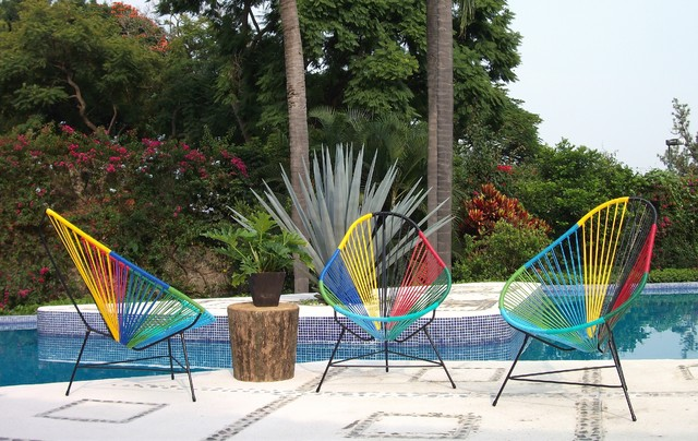 Acapulco Chairs by Ocho modern patio