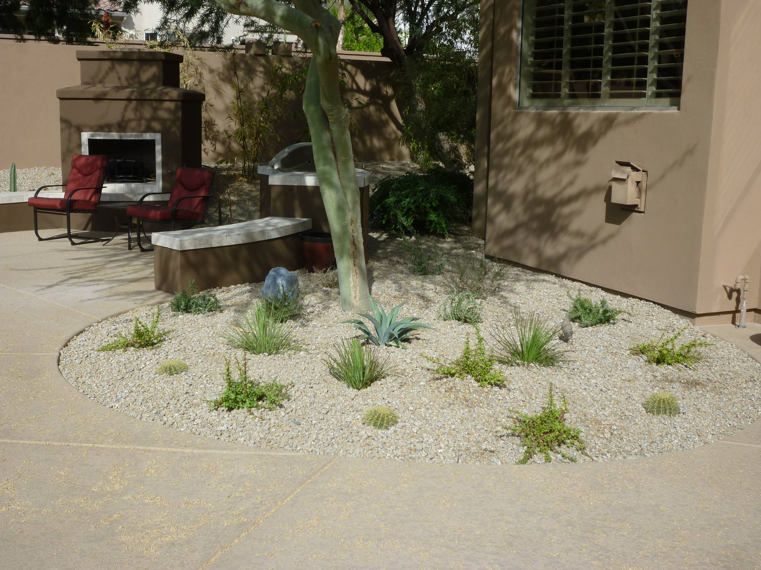 Accent Planting Bed