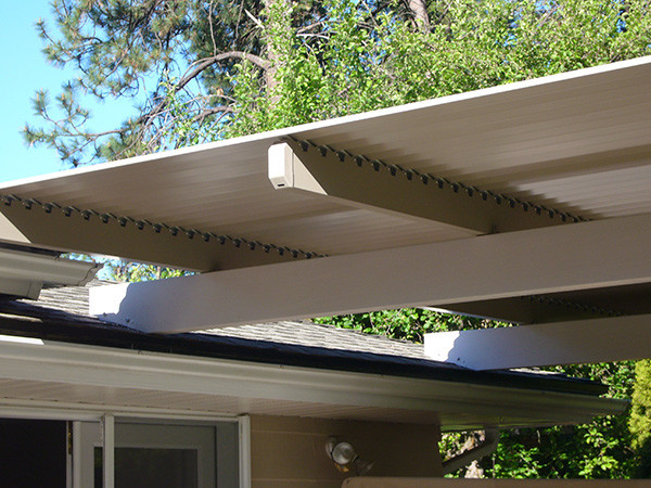 Adjustable Louver Roof Contemporary Patio Other By