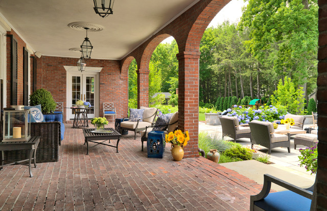 Admiral S House Traditional Patio Boston By Meyer