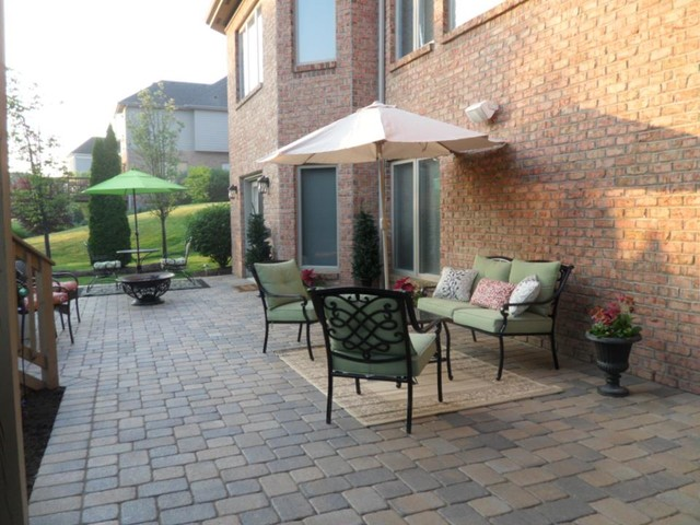 After Hopkins Backyard Paver Patio Makeover Centerville Oh