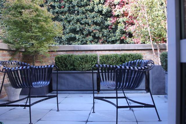 Alan Koppel Art Gallery contemporary-patio