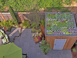 modern patio 12 Garden Sheds and Cottages We Love Now (13 photos)