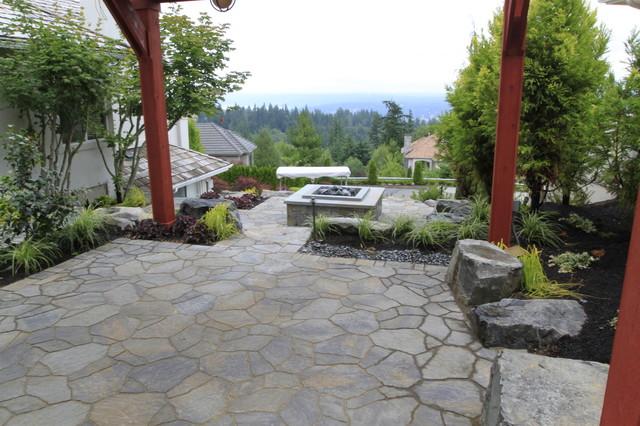Alderwood Landscape traditional-patio