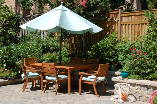 Townhouse Backyard Decks : OUTDOOR PHOTOS Landscape Patio Pool Porch Deck