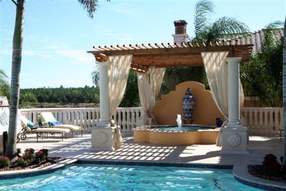 All-Tex mediterranean-patio