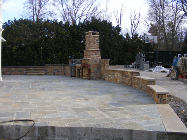 Allendale project traditional-patio