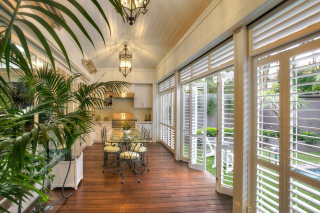 Aluminium Shutters - Outdoor Rooms - Modern - Patio - Brisbane - by ...