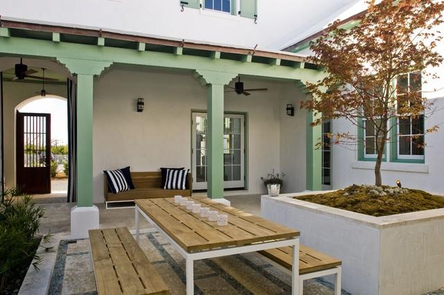 alys beach fl contemorary courtyard modern patio birmingham by troy rhone garden design. Black Bedroom Furniture Sets. Home Design Ideas