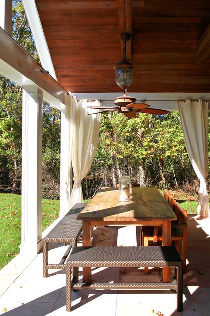 Amagansett Beach House contemporary-patio
