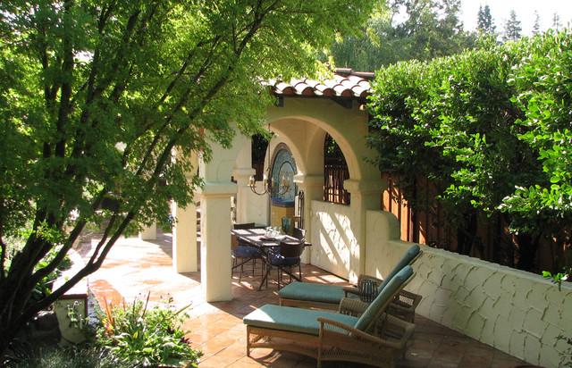 Casa California mediterranean-patio