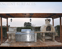 Amazing Ancient BBQ's mediterranean-patio