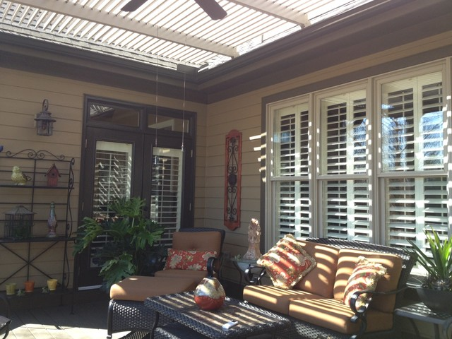 Amazing Patio Cover That Opens And Closes Rustic Patio