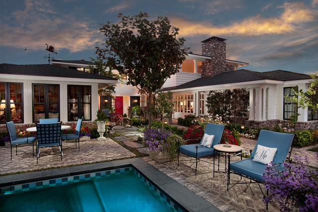 American Beauty traditional-patio