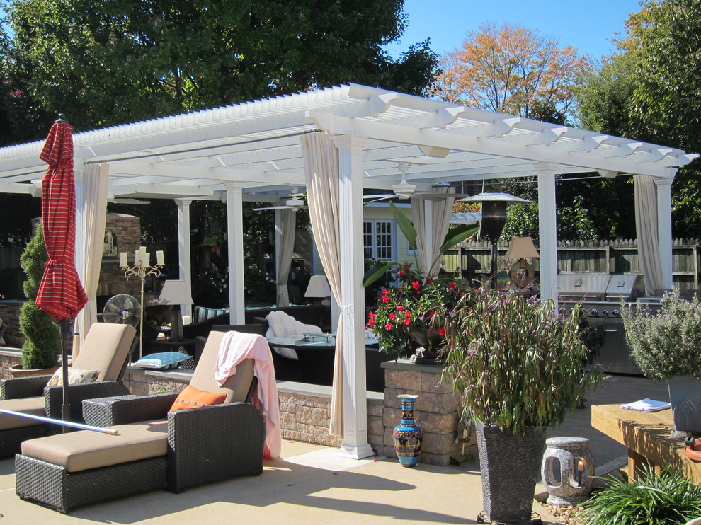 American Louvered Roof 2 - Traditional - Patio - Richmond ...