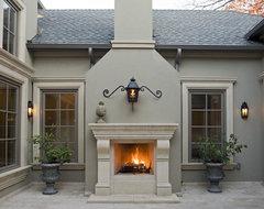 Amherst Courtyard mediterranean-patio