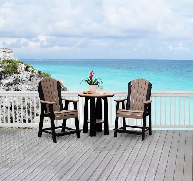 Amish Outdoor Poly Furniture Beach Style Patio Other
