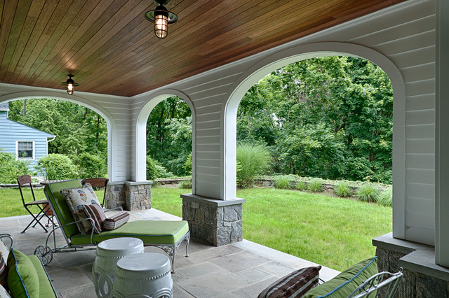 An Artisan Kitchen at a Briarcliff Hilltop traditional-patio