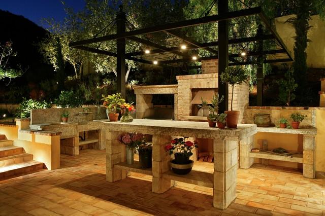 antique slabs quot butcher blocks quot outdoor kitchen