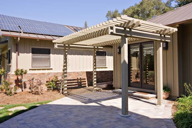 arbor by Bay Area remodeling contractor and fine home builder eclectic-patio