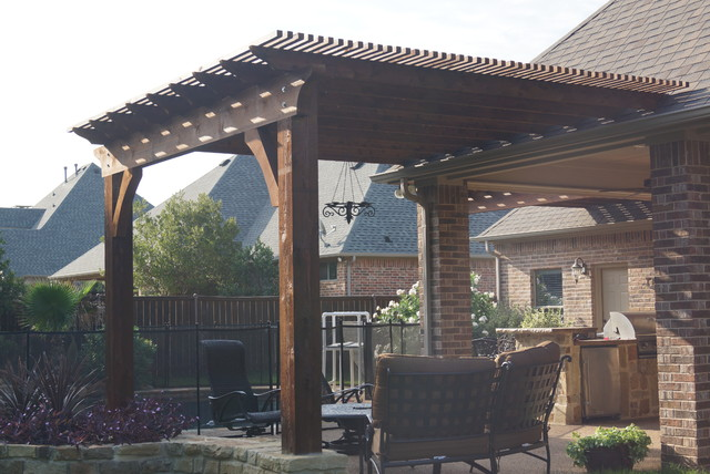 Arbor Projects, Pergola Projects Traditional Patio