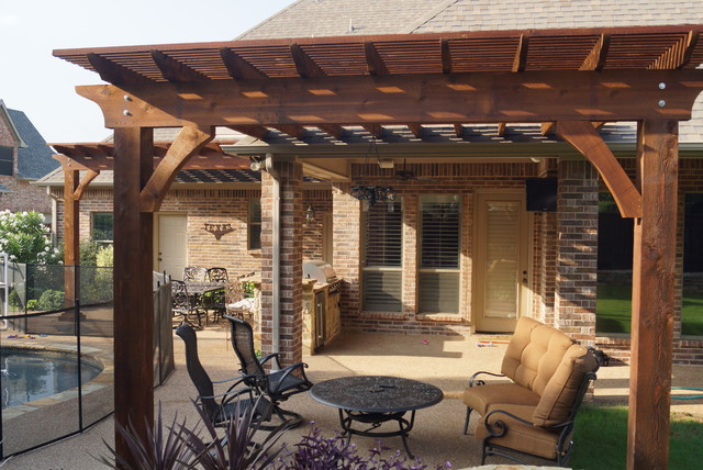 Arbor Projects Pergola Projects Traditional Patio