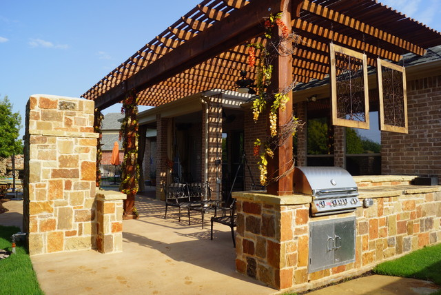 Arbor projects Pergola projects - Traditional - Patio - Dallas - by DFW Creative Homes u0026 Renovation