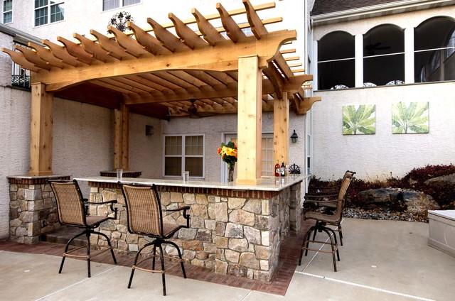 Arbors & Pergolas traditional-patio