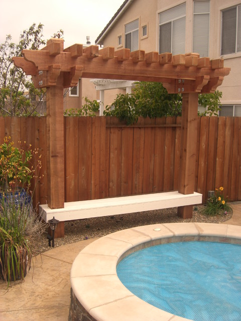Arbors by Rich Craig Construction, Inc. traditional-patio