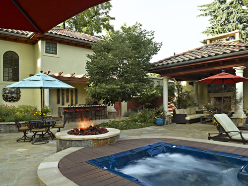 Traditional Patio by Denver Landscape Architects & Landscape Designers Lifescape Colorado.
