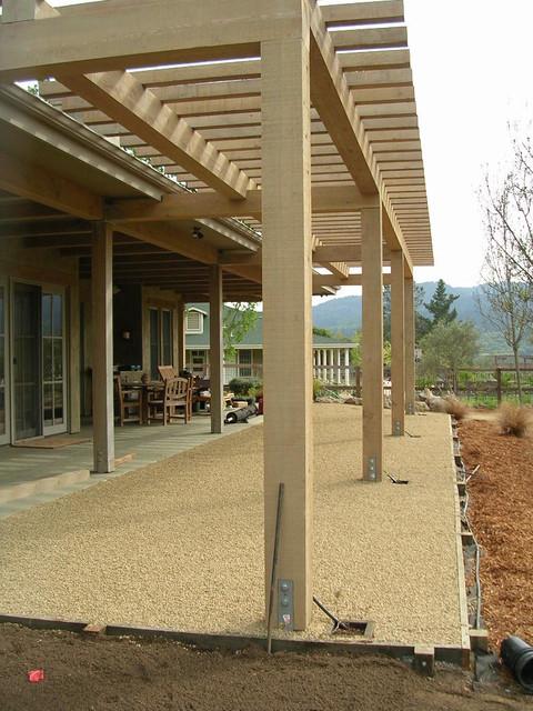 Arbors we have built in the Napa Valley mediterranean-patio