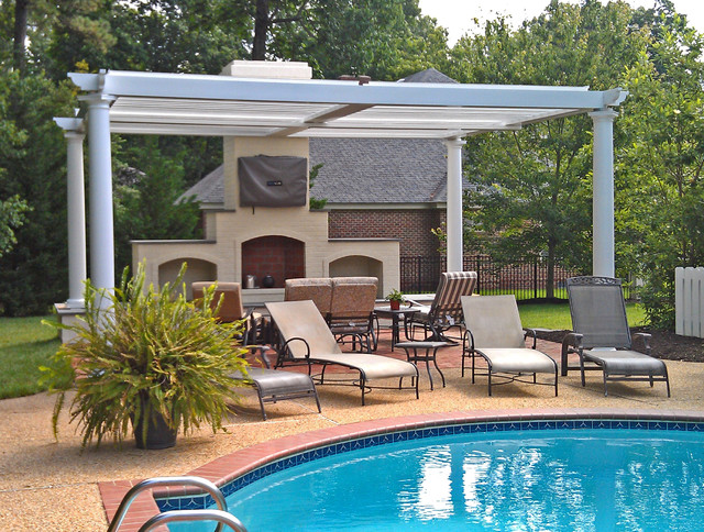 Arcadia louvered roof a variety of installation types modern patio other by adjustable - Types patio roofing ...