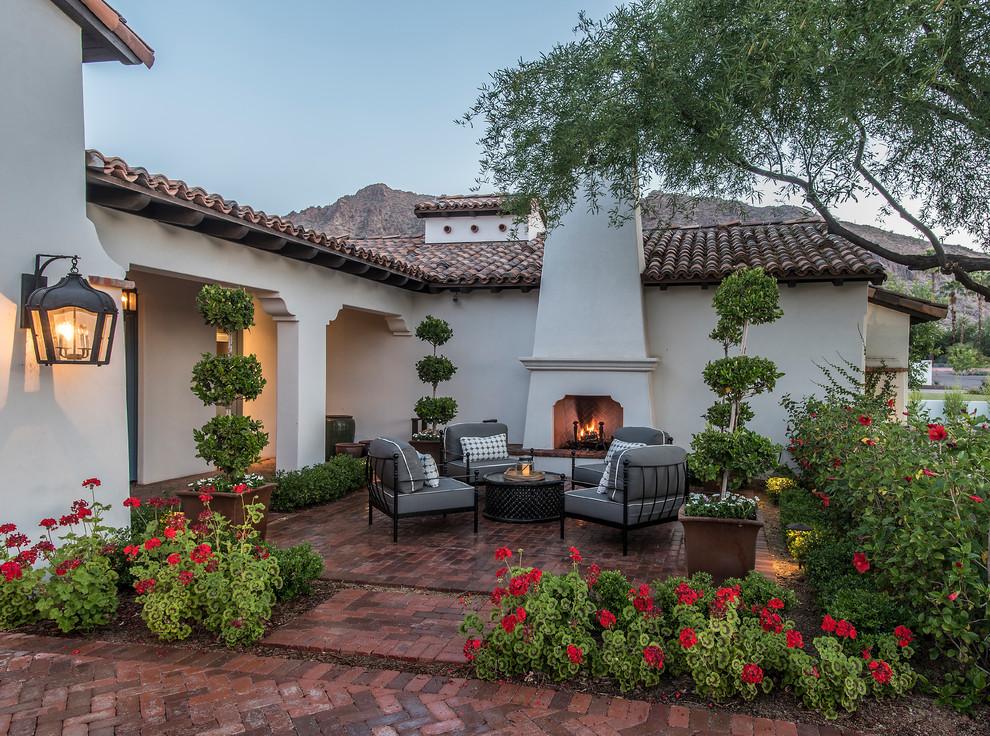 Arcadia Spanish Colonial Courtyard Mediterranean Patio Phoenix By Greey Pickett