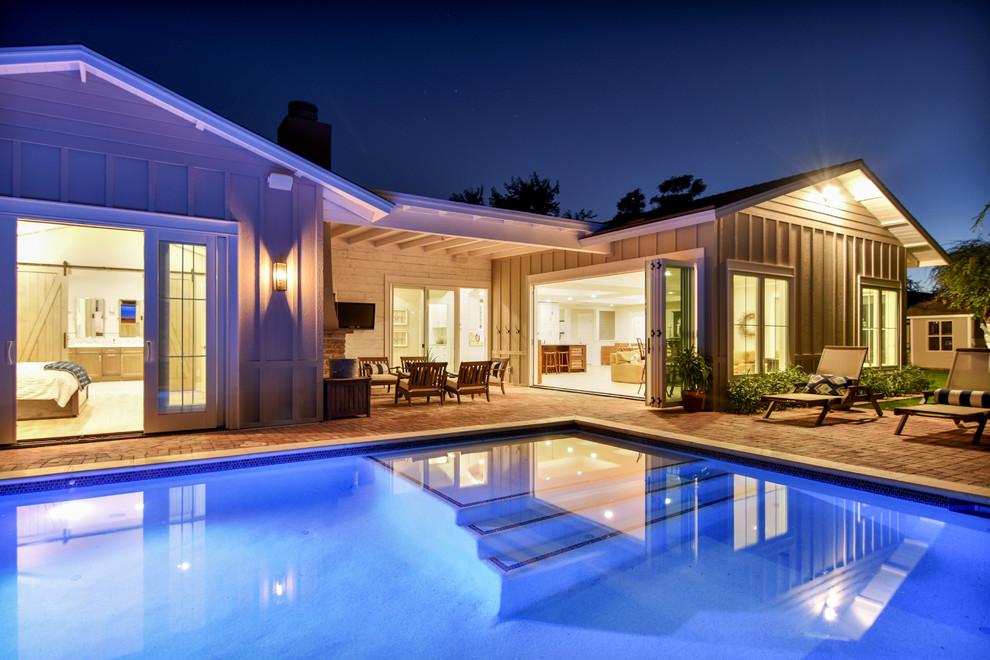 Arcadia Traditional Ranch Home - Transitional - Patio ... on Arcadia Backyard Designs id=24290