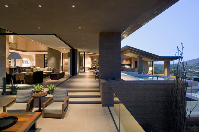 Architect: Jon C Bernhard contemporary patio