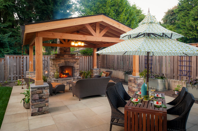 Armstrong Property Traditional Patio Portland By