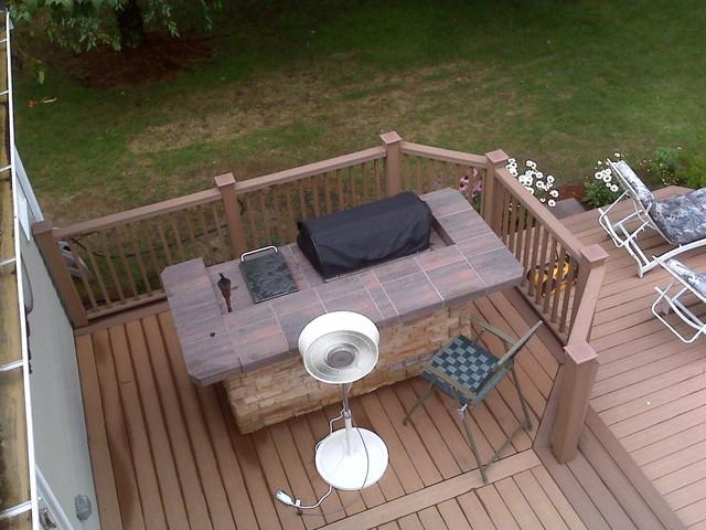 Ashland Deck traditional-patio