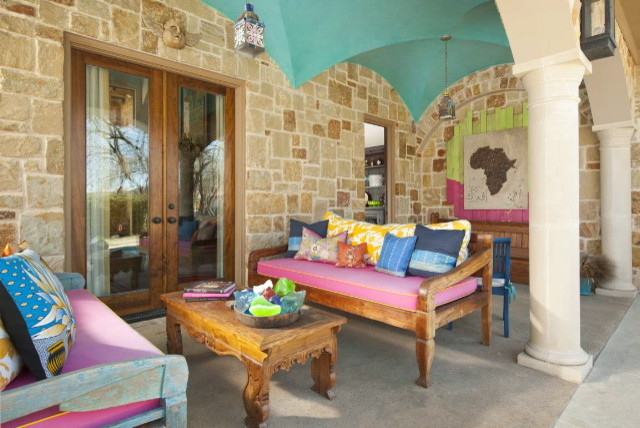 Ashley Astleford eclectic patio