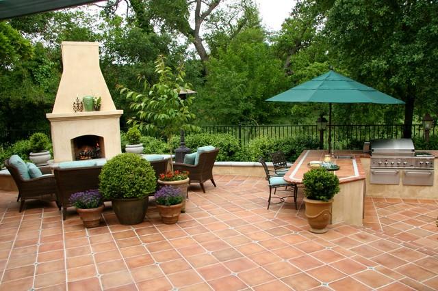 Ashton Park mediterranean-patio