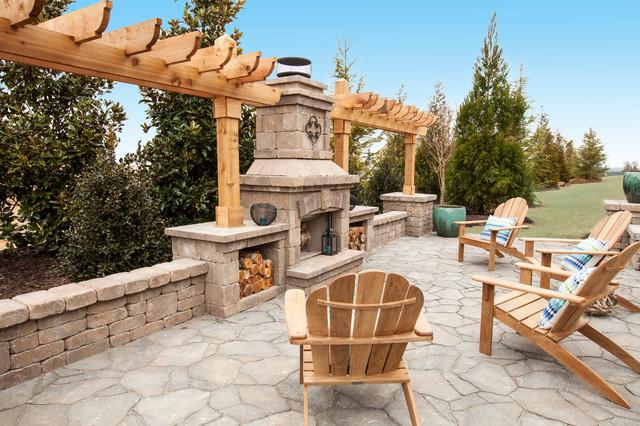 Ashton Woods Atlanta Outdoor Spaces traditional-patio