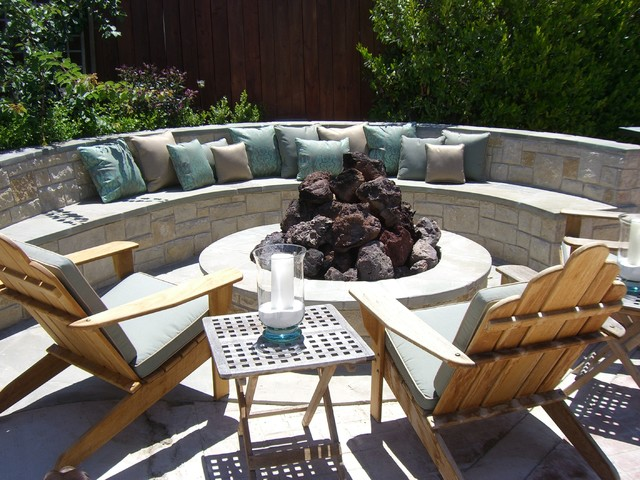 Assorted contemporary-patio